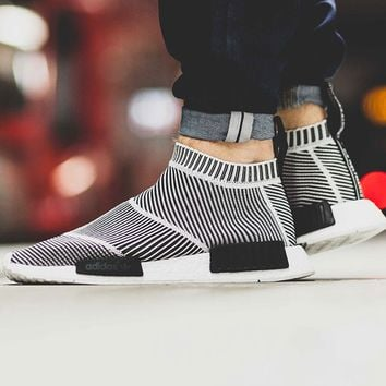 "NMD CS1 City Sock Boost Primeknit ""Black N White"""