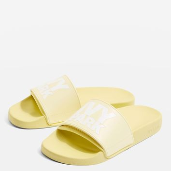 Logo Sliders by Ivy Park | Topshop