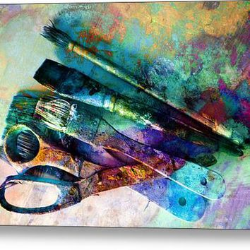 Color Your World Canvas Print / Canvas Art By Ann Powell