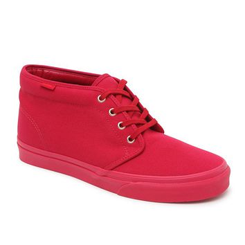 Vans Gold Mono Chukka Boots - Mens Shoes - Crimson