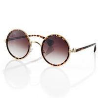 Hot Celebrity Retro Round Sunglasses