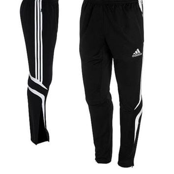 NWT Adidas Soccer Original Tiro Training Pants Black Large Football Warm Up