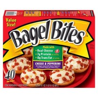 Ore-Ida Bagel Bites Cheese and Pepperoni Mini Bagels 40-ct.