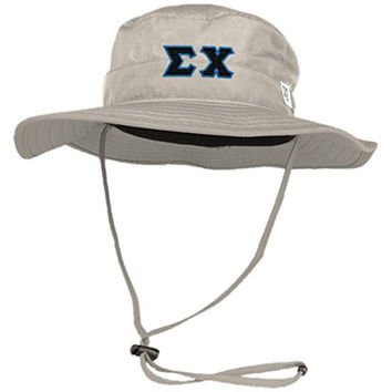 Sigma Chi Boonie Hat By The Game