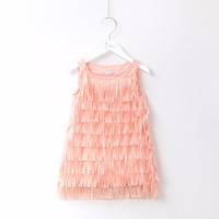 "The ""Claudia"" Fringe Girls Dress"