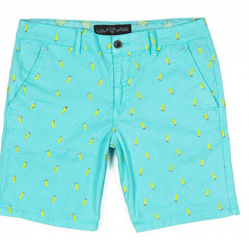 LIGHTER CHINO SHORT LIGHT BLUE – golfwang