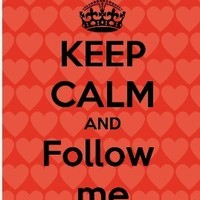 Follow me guys! :D