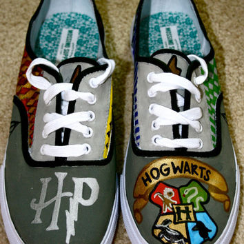 Harry Potter Shoes by meghansimonett on Etsy