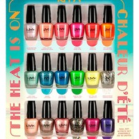 Junior Women's NYX 'The Heat is On' Nail Art Set