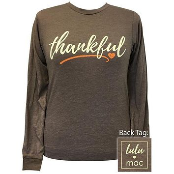 Girlie Girl Originals Lulu Mac Preppy Thankful T-Shirt