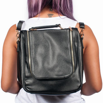 Black Lit Backpack