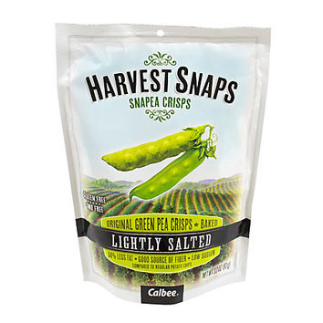 Harvest Snaps Snapea Crisps, Lightly Salted, 3.3 Oz Pouch Item # 751440