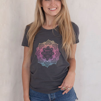 Mermaid Mandala Tee