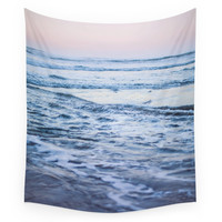 Society6 Pacific Ocean Waves Wall Tapestry