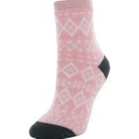 Yaktrax Women's Cozy Cabin Nordic Crew Socks | DICK'S Sporting Goods