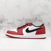 Air Jordan 1 Retro Low Chicago Bulls Red White Black Sneaker - Best Deal Online