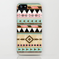 Southwestern Tribal Pattern  iPhone Case by RebekahEDesigns | Society6