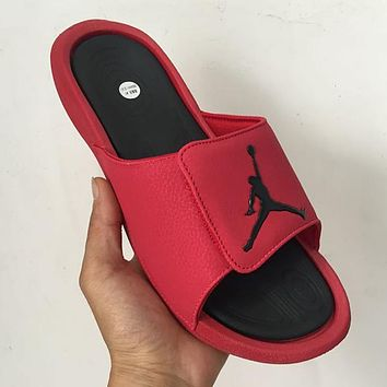 Air Jordan Woman Men Fashion Slippers Sandals Shoes