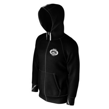 Private Rebel Stripped Up Zip-Up Hoodie