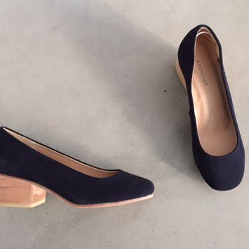 eleanor pump, navy | A Détacher