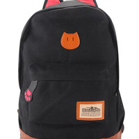 Casual Cat Ears Backpack