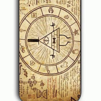 iPhone 5C Case - Hard (PC) Cover with Gravity Falls Maps Plastic Case Design