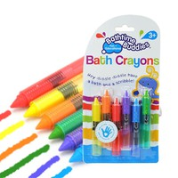 6Pcs/Set Kids Drawing Toys Bath Toy Baby Bath Crayons Toddler Washable Bathtime Safety Fun Play Educational Kids Toy