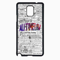 all time low 3 f3dc220a-fd19-4d6b-a5a7-291ddccb5d50 for Samsung Galaxy Note 4 Case *RA*