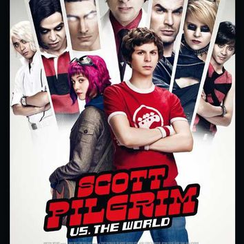 Scott Pilgrim vs the World (Dutch) 11x17 Movie Poster (2010)