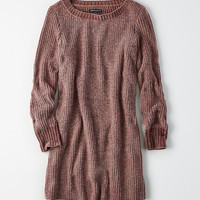 AE Ahh-Mazingly Soft Chenille Sweater Dress, Purple