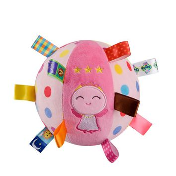 Plush Animal emboidery toys Baby musical Ball Rattle bell Toy brinquedo juguetes jouet crib stroller bed Mobile bebes newborn