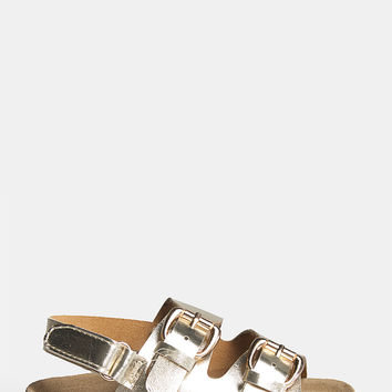 Girl's Double Buckle Sandals