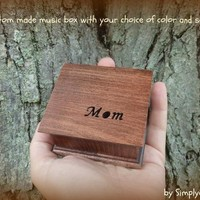 music box, music boxes, wooden music box, custom music box, mom, gift for mom, musicbox, personalized music box, mother of the bride gift,