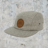 AM Five Panel Hat in Wool