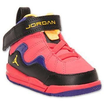 Girls' Toddler Jordan Flight TR 97 Basketball Shoes