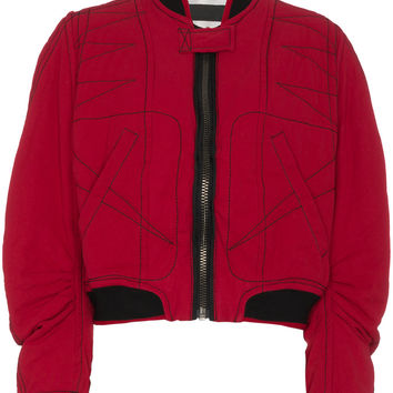 Haider Ackermann Quilted Cotton Bomber Jacket - Farfetch