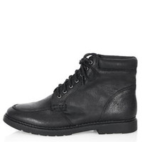 BERTY Lace Up Boots - Black