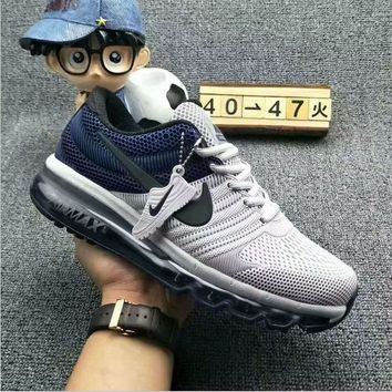 NIKE AIR MAX Fashion Sport Casual Shoes Sneakers gray