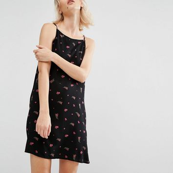 Vans Floral Print Cami Swing Dress