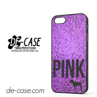 Purple Glitter Victoria's Secret DEAL-8997 Apple Phonecase Cover For Iphone 5 / Iphone 5S