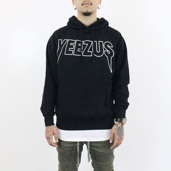 Yeezus Indian Skull Hoodie (Black)