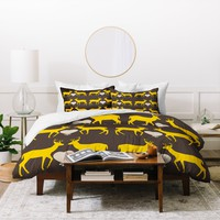 Natt Yellow Love Duvet Cover