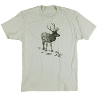 Elk T-Shirt Light Grey