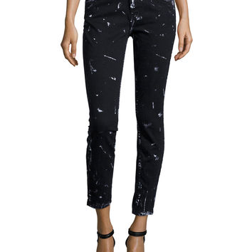 The Stiletto Skinny Cropped Jeans,