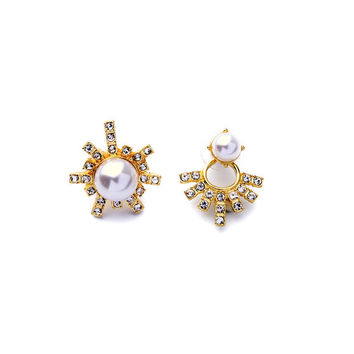 Celestial Asymmetrical Earrings
