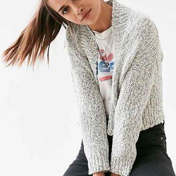BDG Speckle Open Cardigan