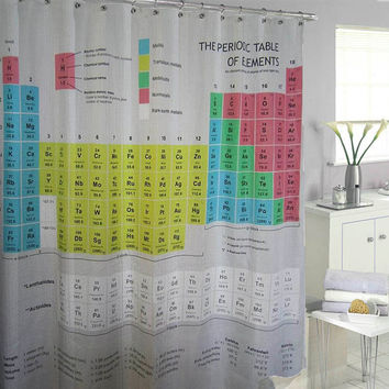 Big Bang Theory Shower Curtains