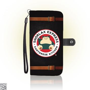 Snorlax Express Kantonese Kitchen, Pokemon Wallet Case