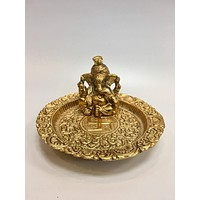 Lord  Ganesh With Thali