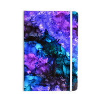 """Claire Day """"Soul Searching"""" Blue Purple Everything Notebook"""